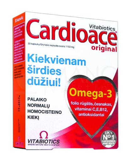 širdies sveikatos papildai uk