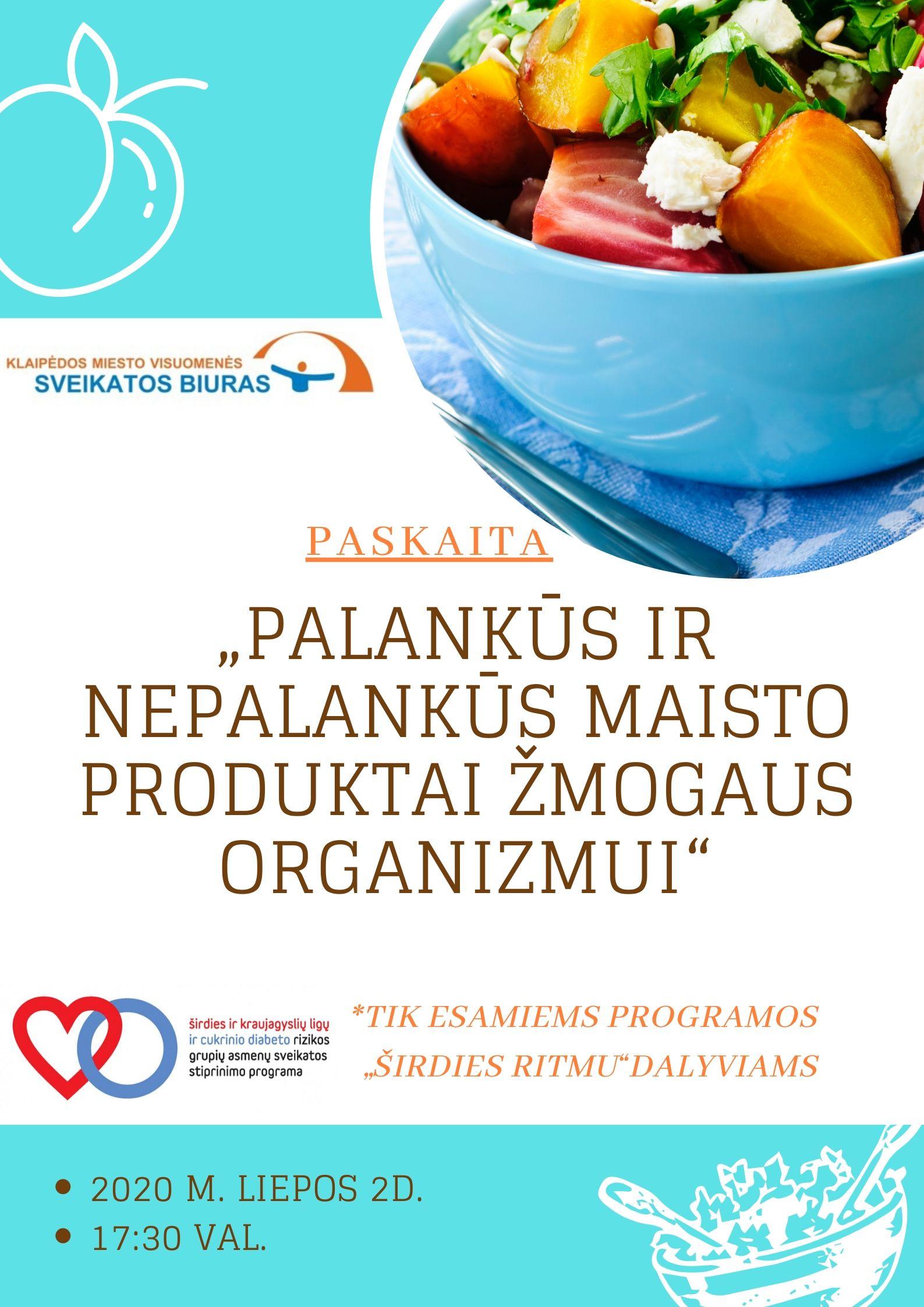 sveikatos programų širdies ritmas anakardžių ir širdies sveikata