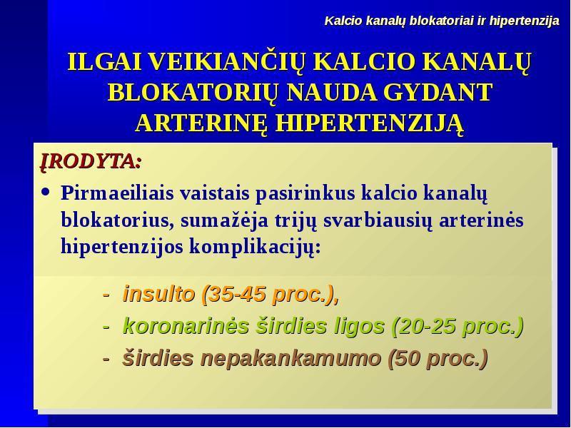 hipertenzija insulto metu hipertenzijos gydymas anglies dioksidu