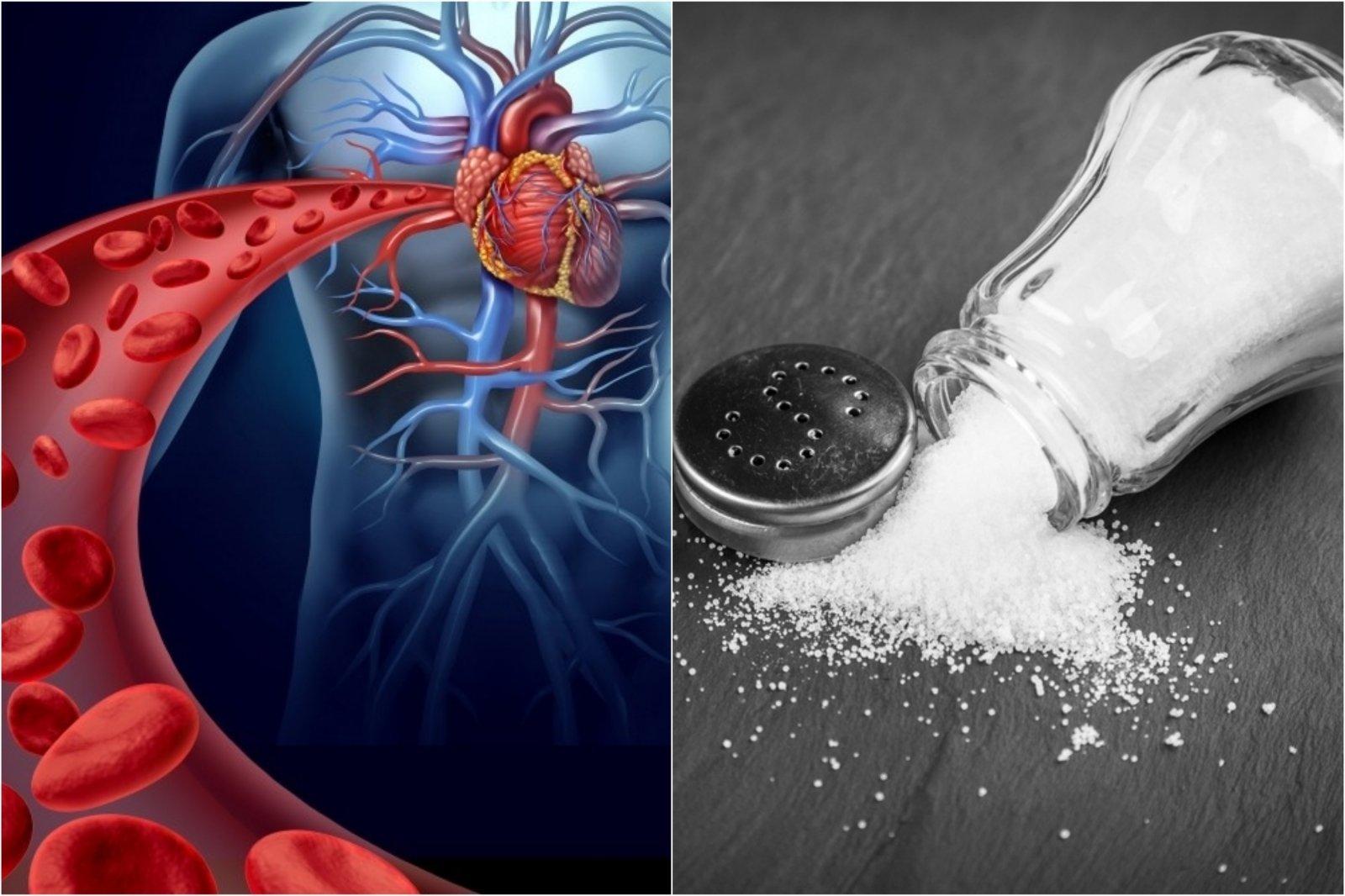 gydymas vandeniu ir druska nuo hipertenzijos