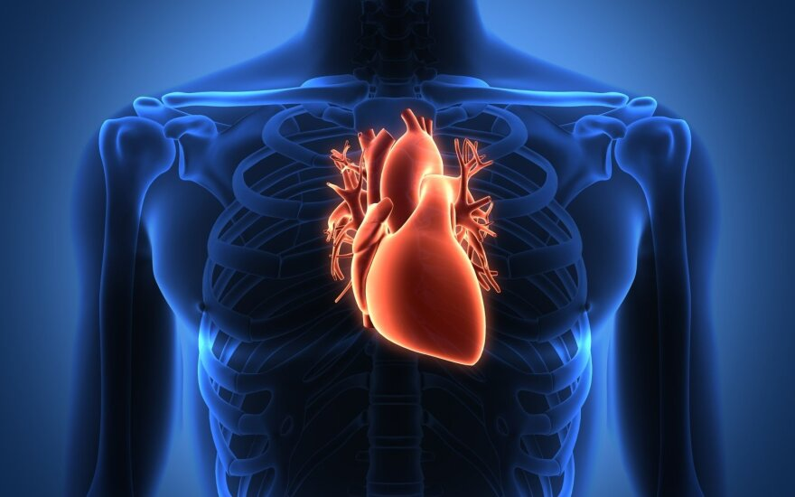 koronarinė širdies liga sukėlė sveikatą