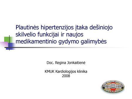 Arterinio kraujo spaudimo matavimo rekomendacijos | e-medicina