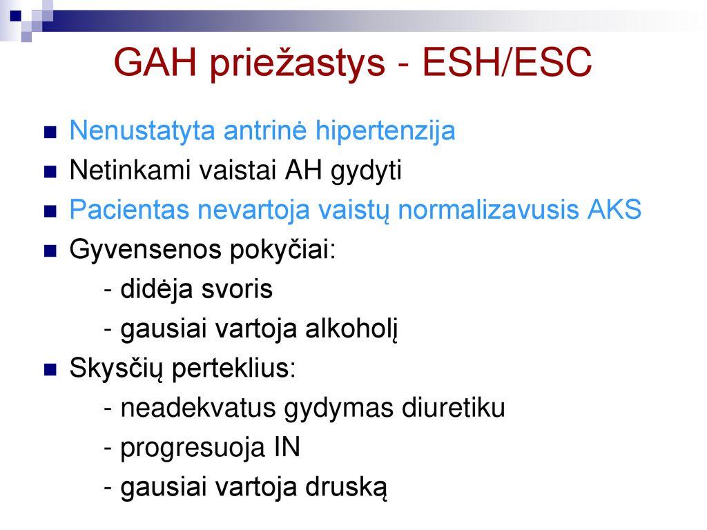 hipertenzijos ir hipotenzijos požymiai