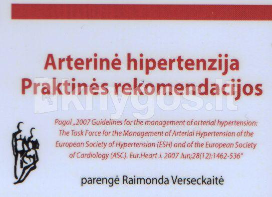 knyga apie tai, kaip įveikti hipertenziją