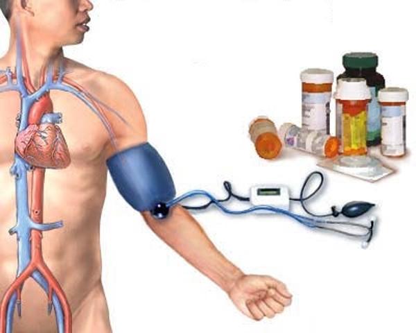 apatinių galūnių edema su hipertenzija