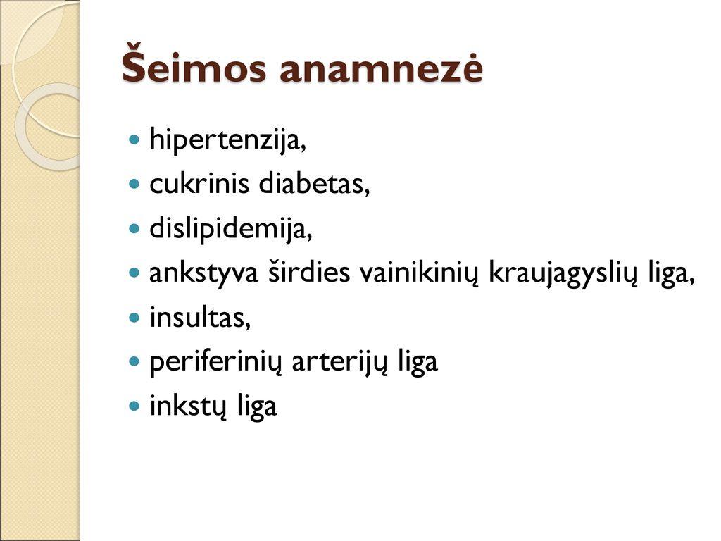 kokios ligos nuo hipertenzijos