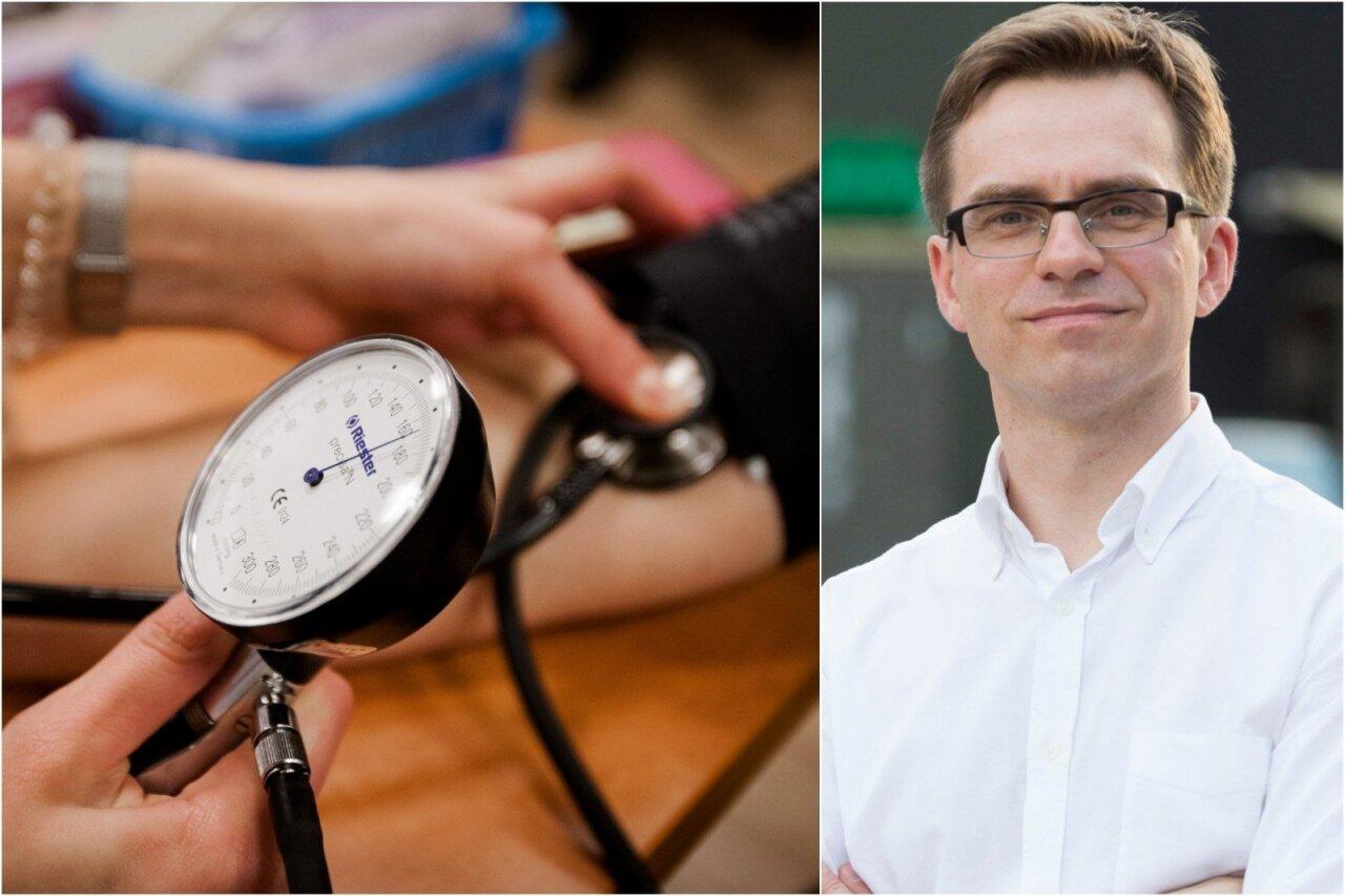 hipertenzija su kraujavimu