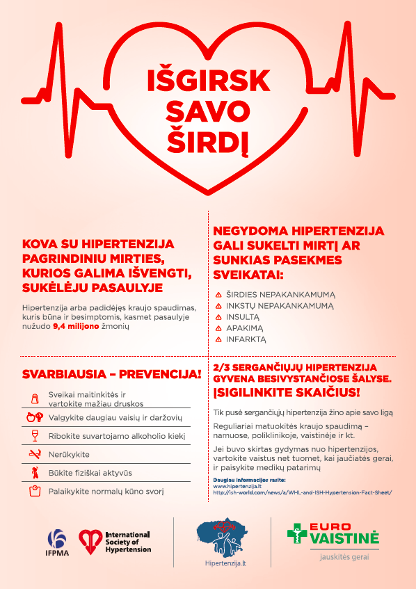 kaip alkoholis veikia širdies sveikatą naktinė hipertenzija yra