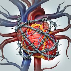 neįgalumas dėl hipertenzijos ir krūtinės anginos