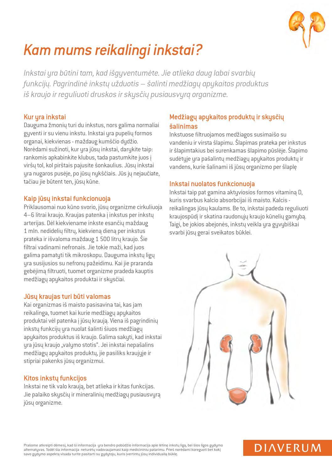 hipertenzijos inkstų žarnyno ir kraujagyslių tipai