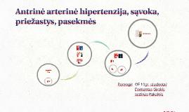 hipertenzijos simptomai ir priežastys