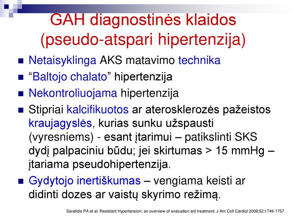 klonidinas ir hipertenzija