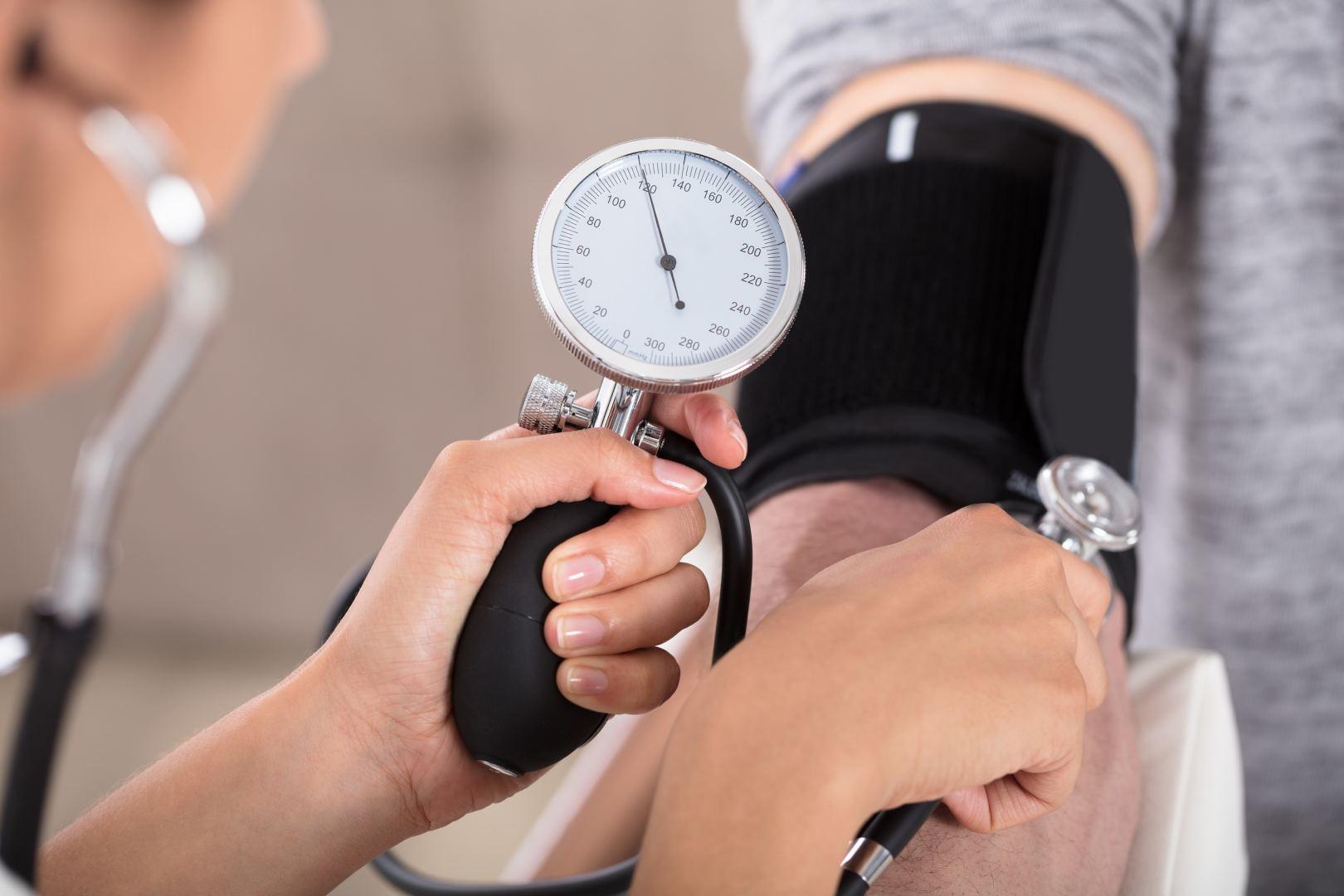 hipertenzija ir dusulys