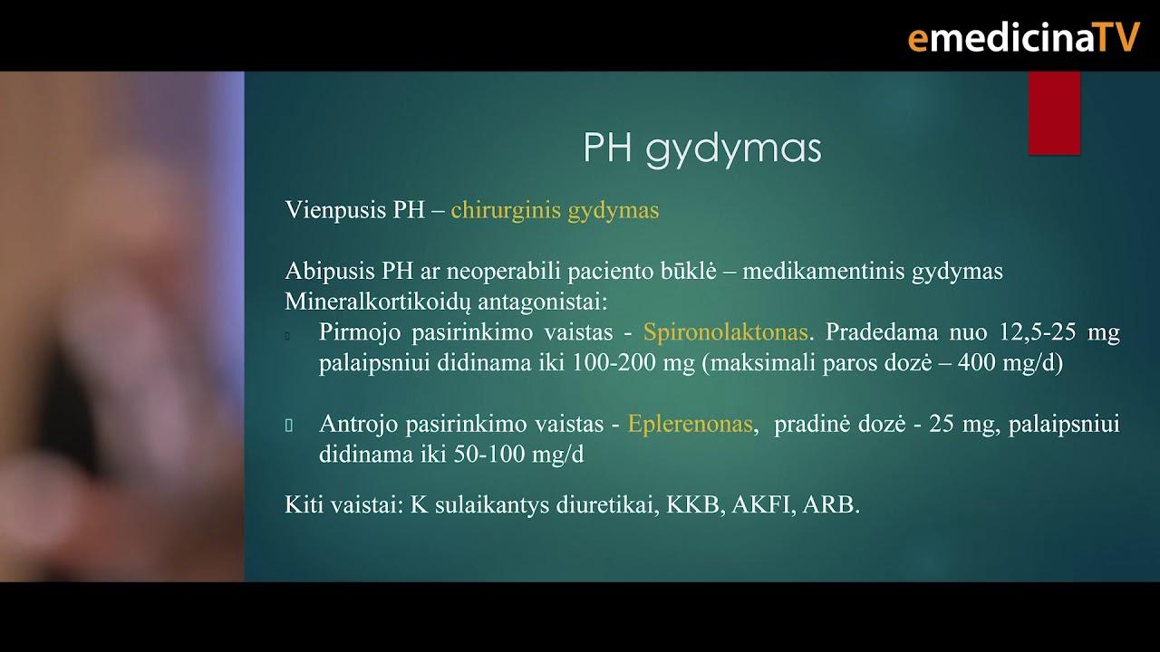 hipertenzija ir jos principai