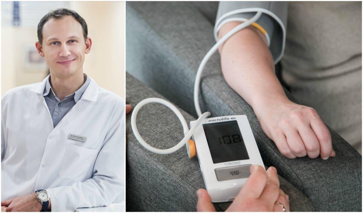 kaip atsikratyti lengvos hipertenzijos