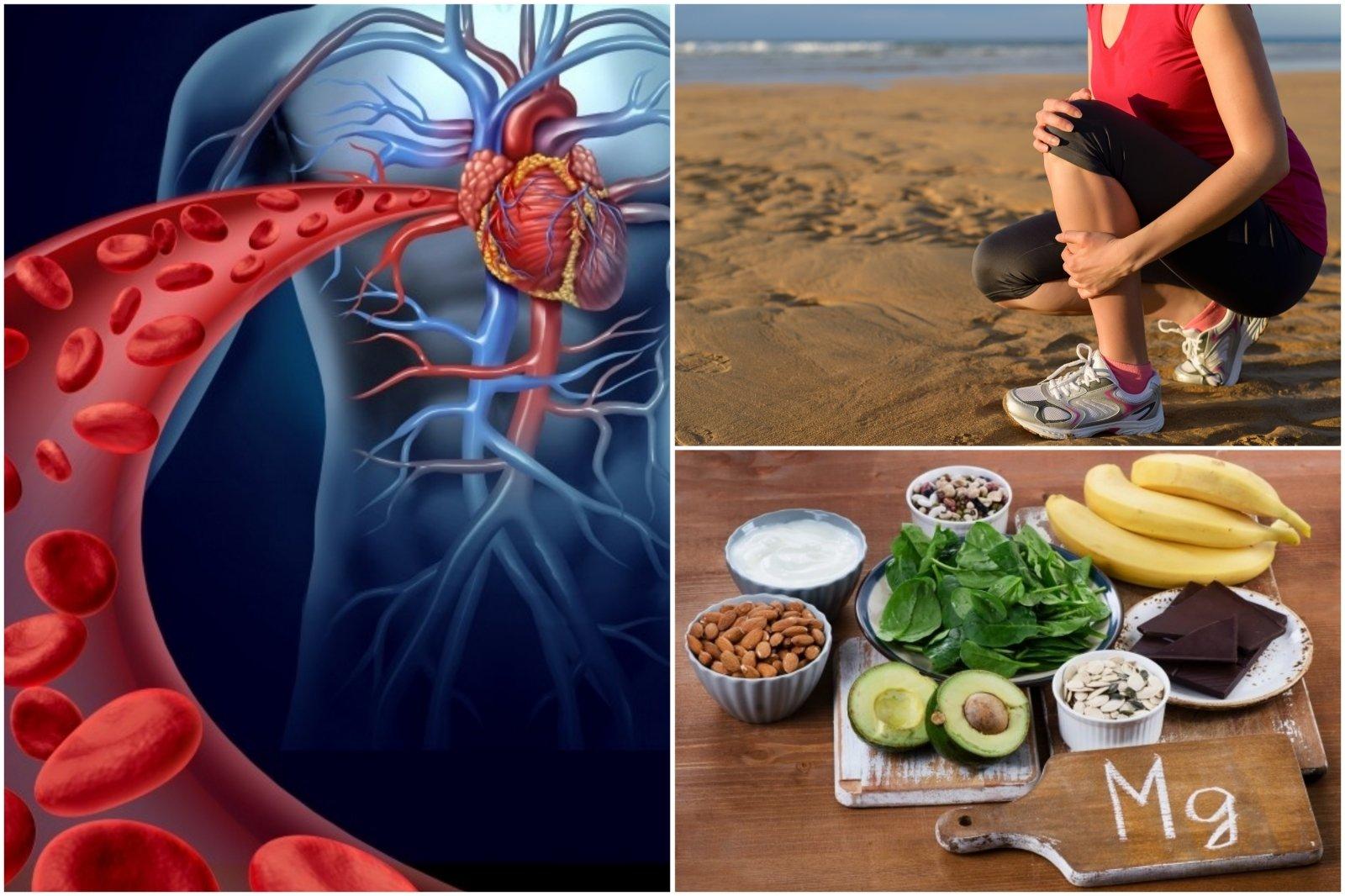kalcio magnio širdies sveikata