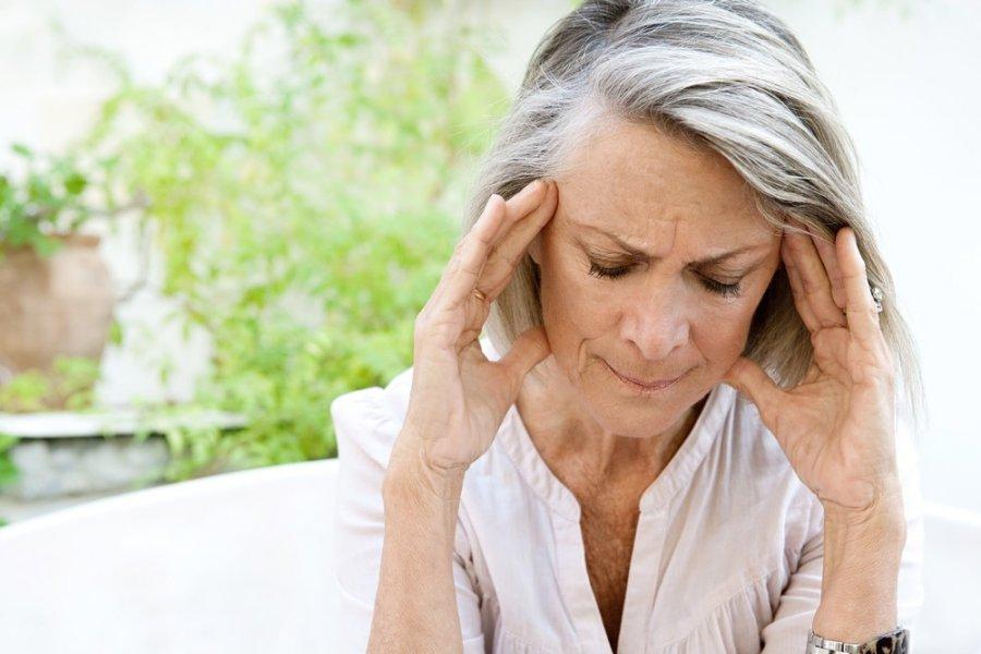 hipertenzijos triukšmas galvoje