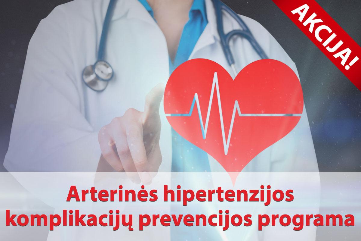 širdis padidėjusi nuo hipertenzijos
