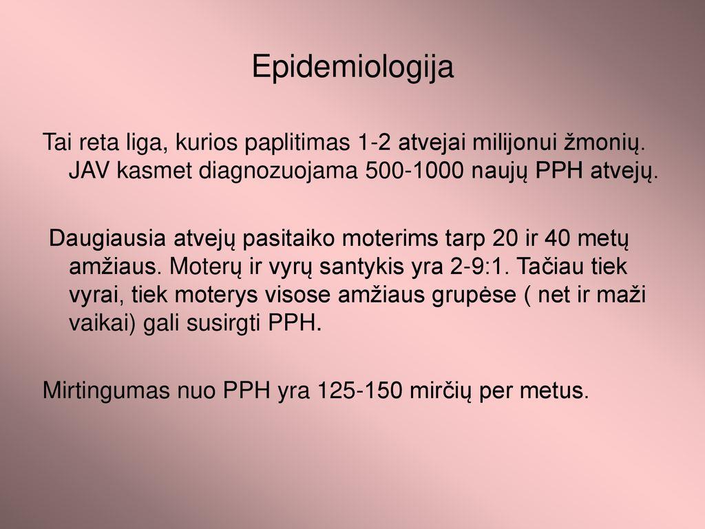 hipertenzija yra neužkrečiama liga