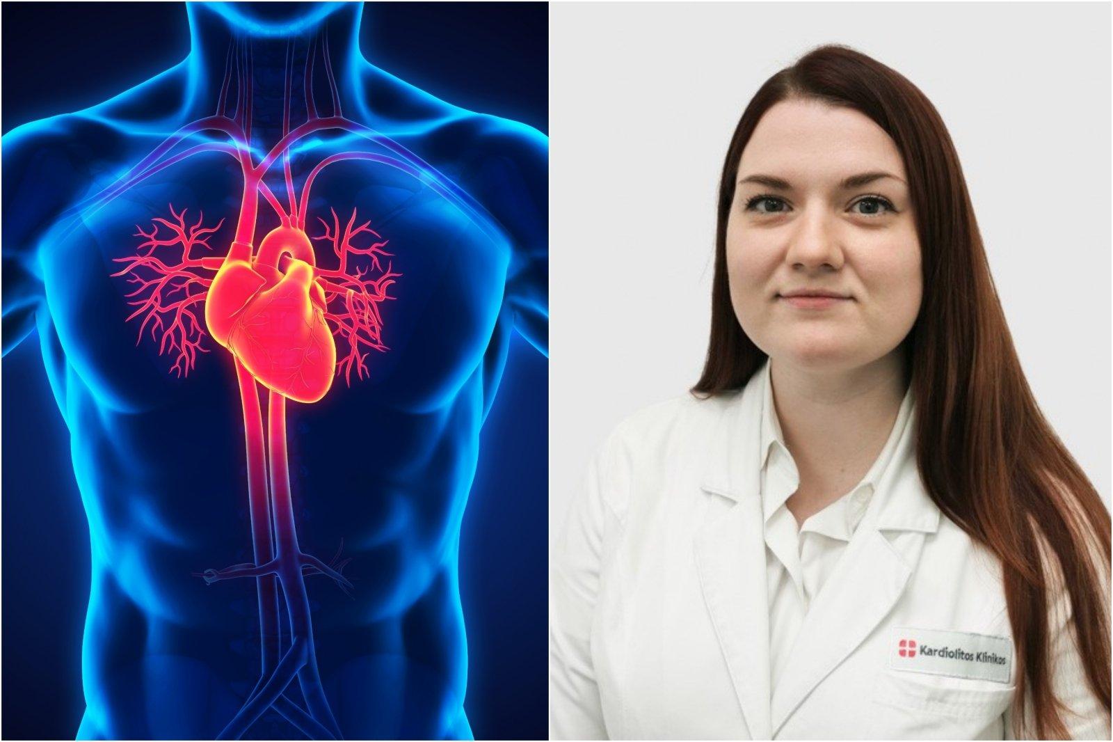 kraujo tyrimai tikrina širdies sveikatą