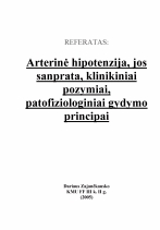 hipertenzijos ir hipotenzijos samprata pagrindiniai hipertenzijos išsivystymo veiksniai