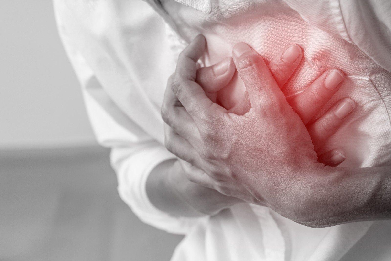 širdies sveikatos problemų simptomai