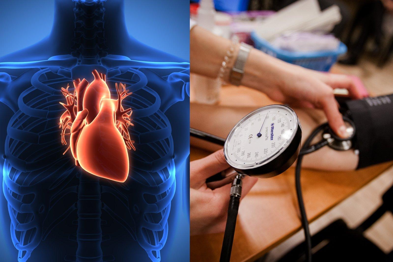 Kokia juosmens apimtis rodo padidėjusią širdies ligų riziką?