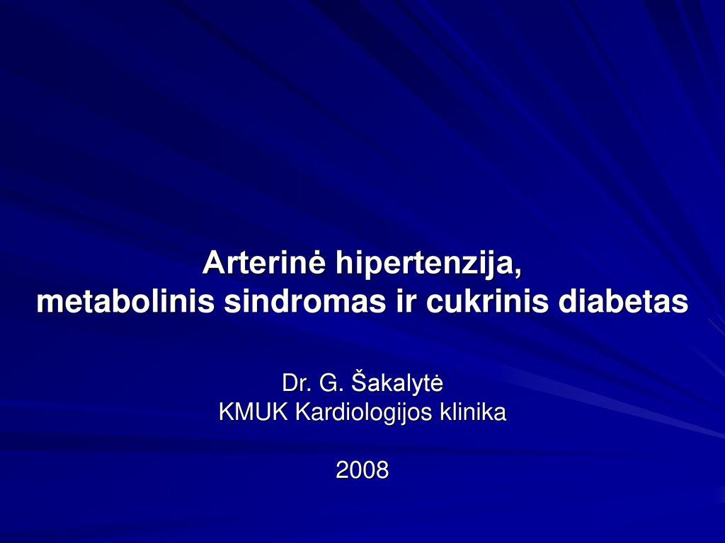 hipertenzija pridėti
