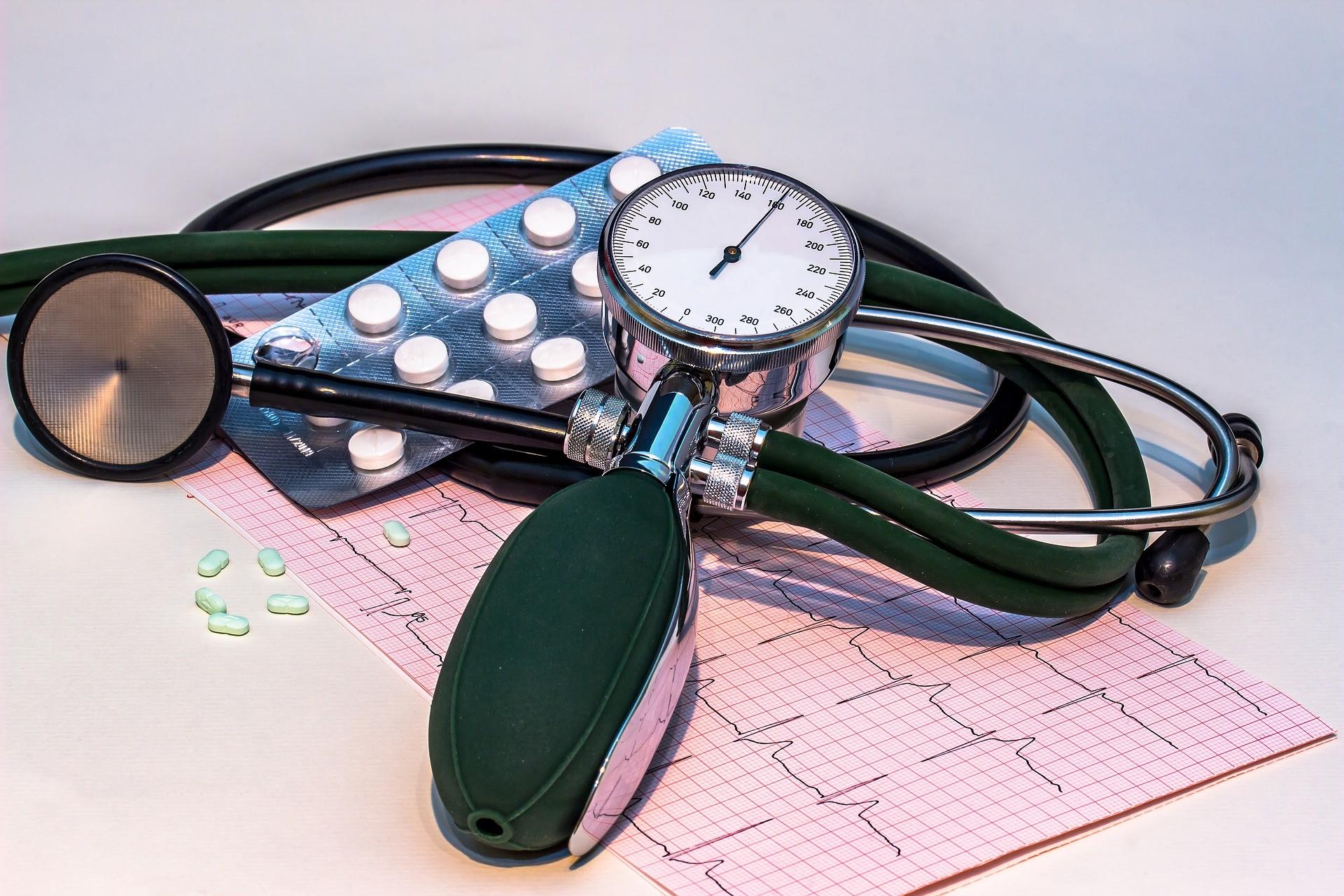 vaistų hipertenzija m