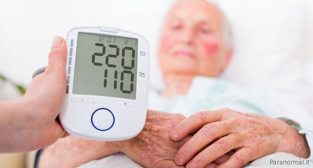 hipertenzija 3 laipsnių skaitmenys