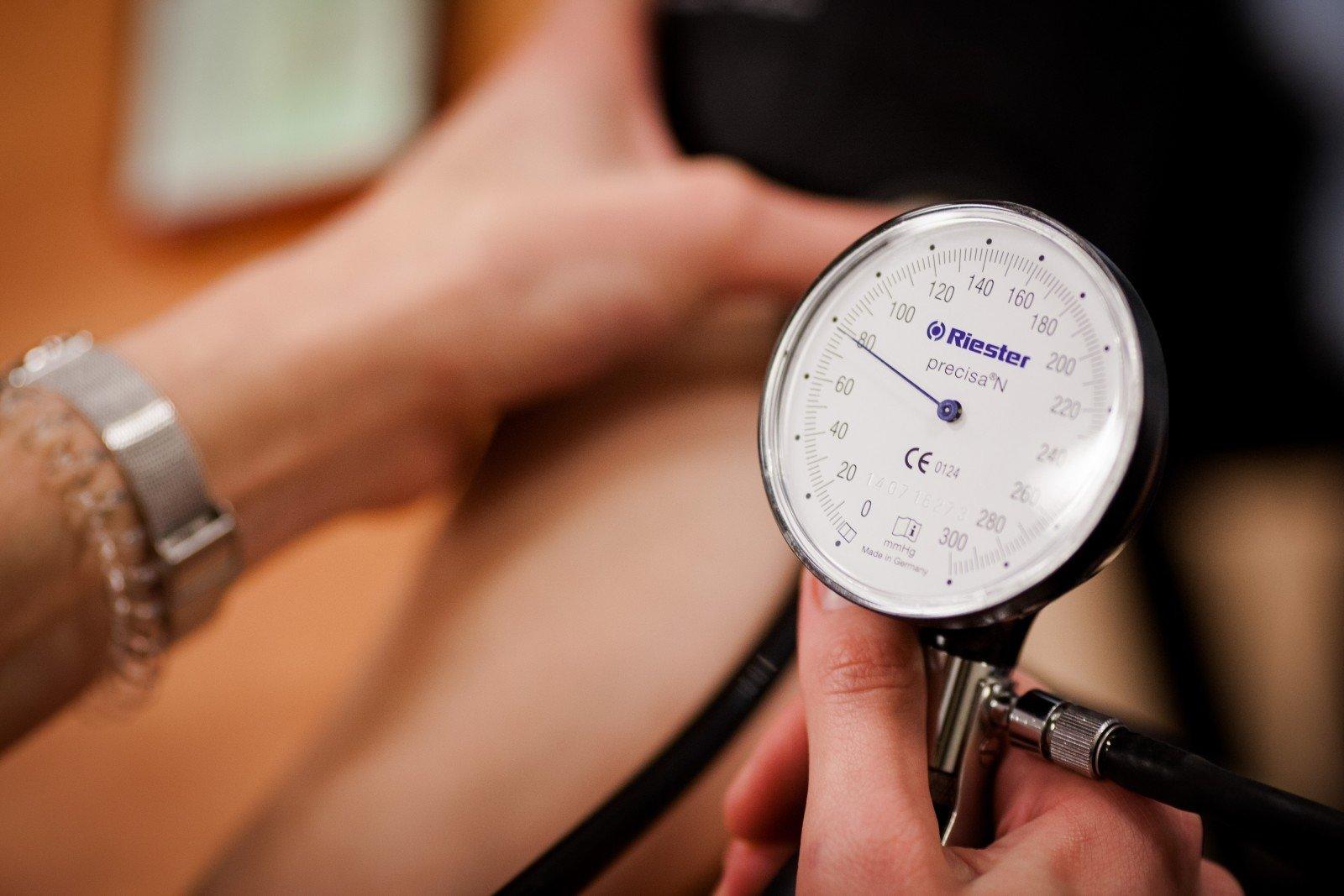hipertenzija skaičiais