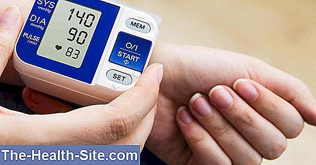 hipertenzijos rodiklis