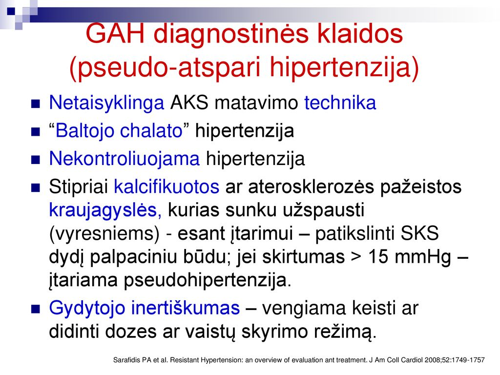 Arterinė hipertenzija ir centrinės nervų sistemos pažeidimai: neurologo požiūris