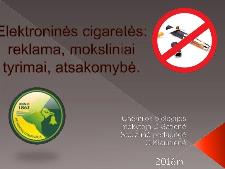 elektroninės cigaretės ir hipertenzija