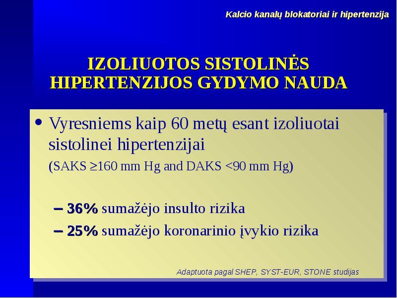 hipertenzija insulto metu norkolutas ir hipertenzija