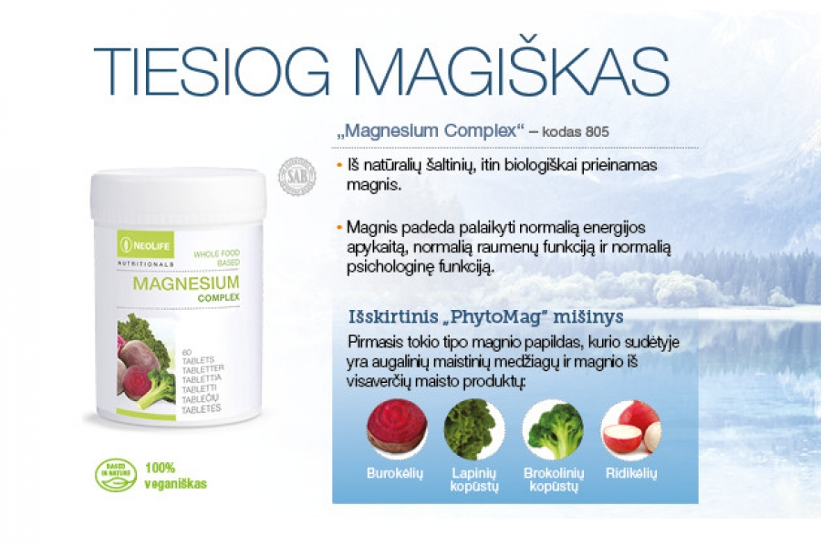 magnio nauda širdies sveikatai