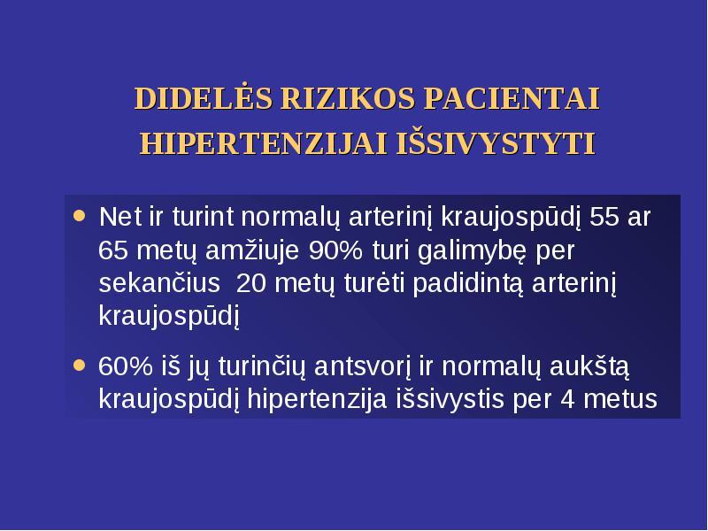 Arterine hipertenzija sergančių vyresnio amžiaus pacientų gydymo ypatumai | e-medicina