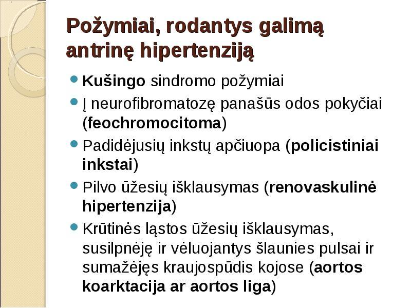 hipertenzija su policistine inkstų liga hipertenzija 1 laipsnio simptomai ir