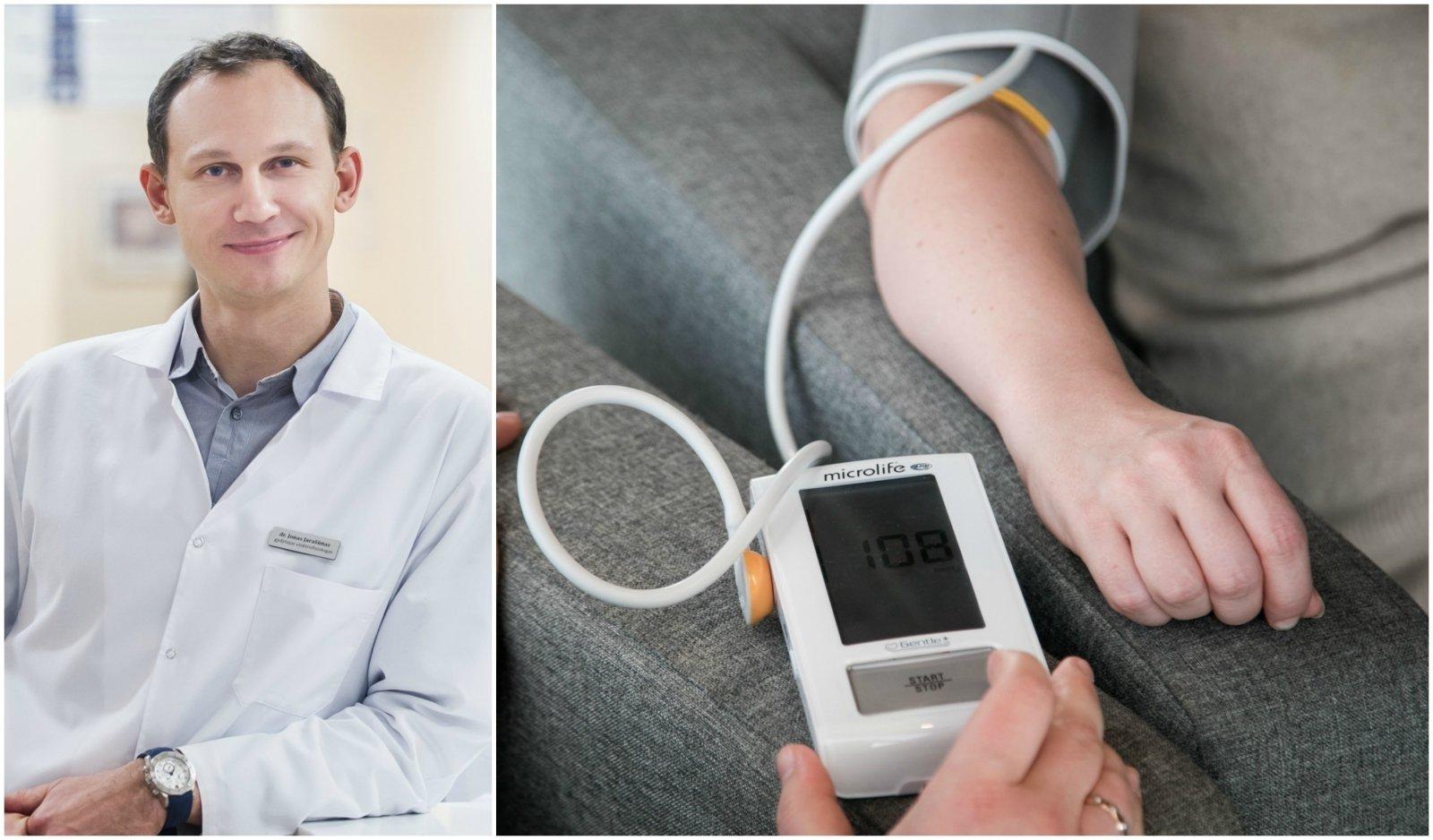 kodėl jaunimo hipertenzija