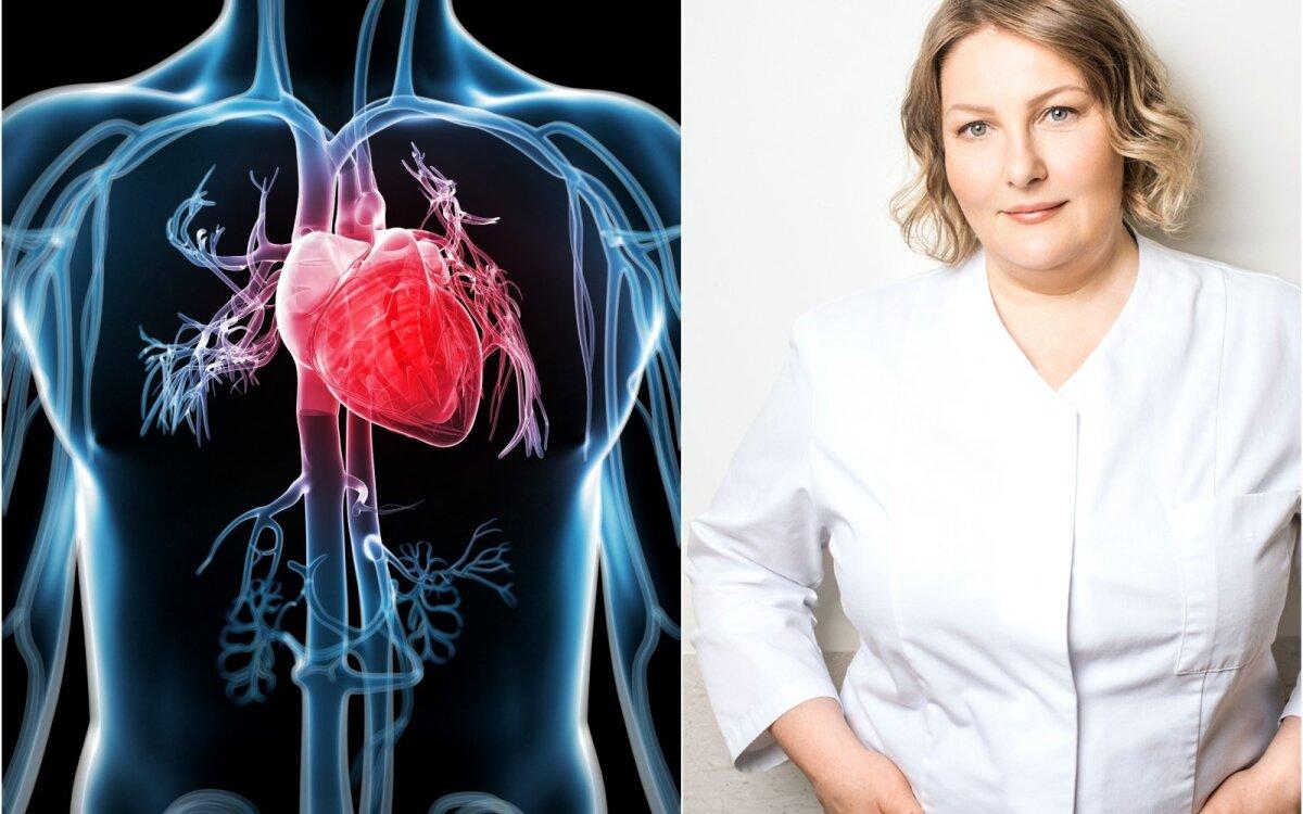 mankštos ir širdies sveikatos nauda