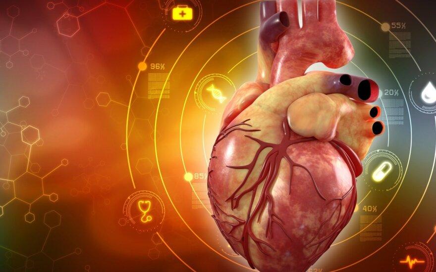 Moterų sveikata: širdies ligų ypatumai