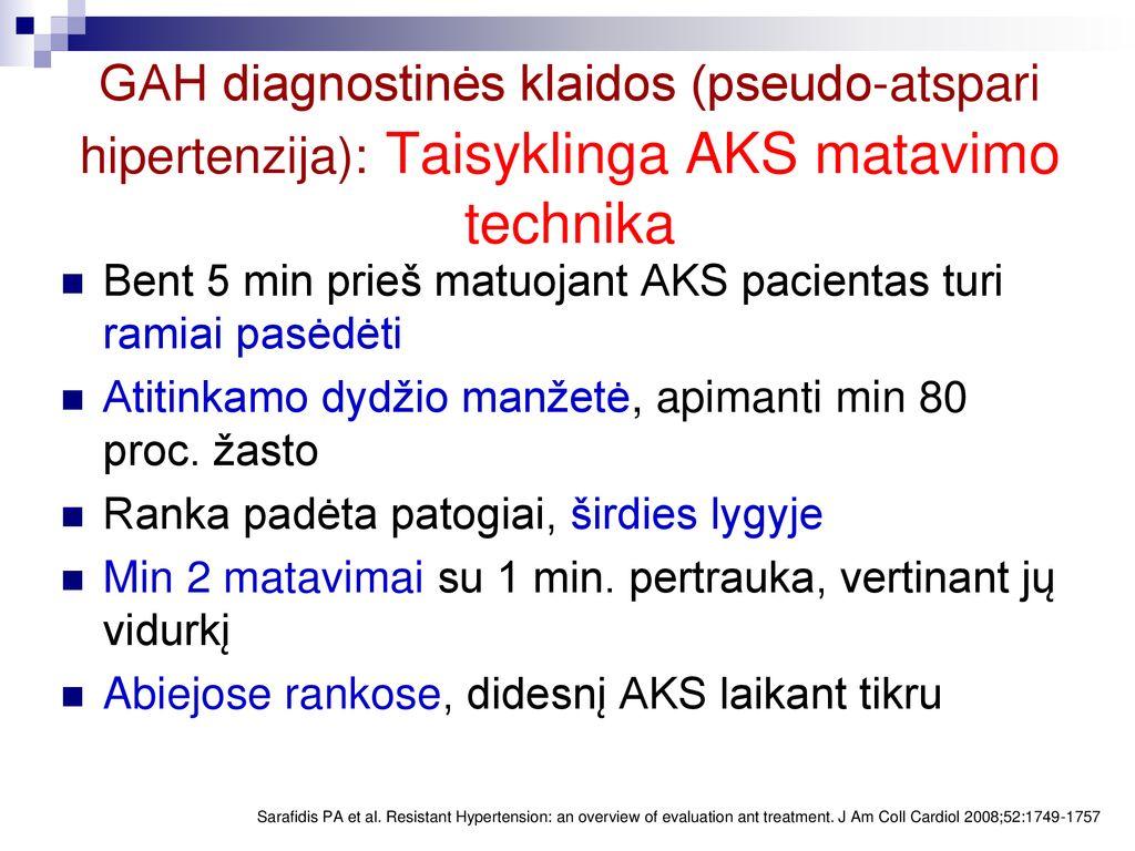 hipertenzijos gydymas sausmedžiu