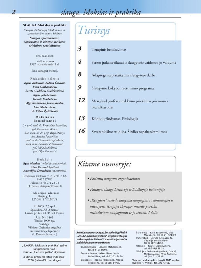 slaugos proceso hipertenzijos slaugos proceso etapai