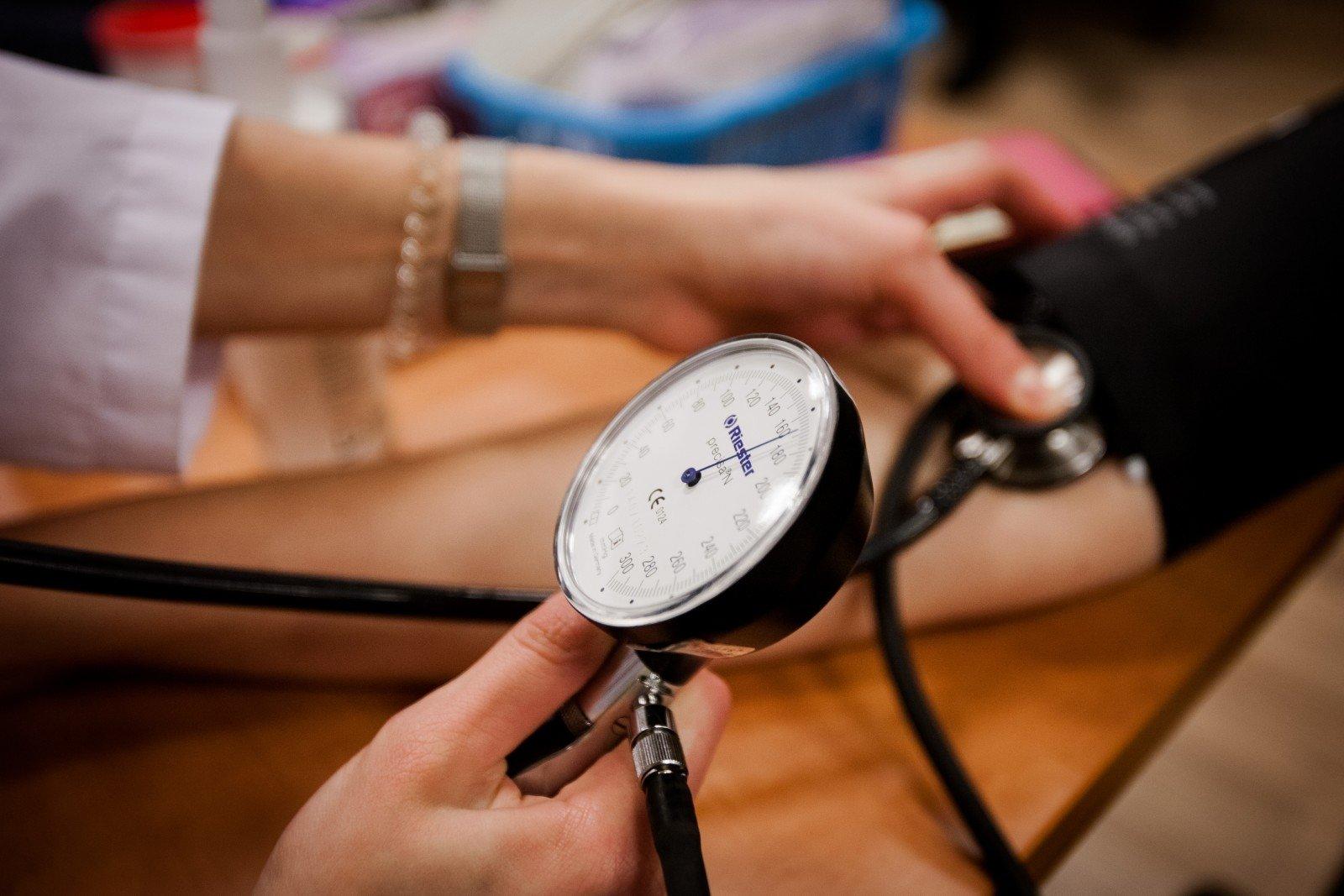 hipertenzija ir pratimų su paveikslėliais rinkinys