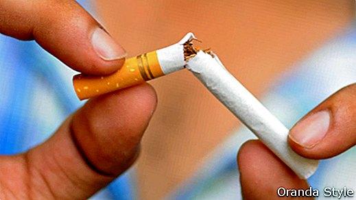 Kas nutiks jūsų organizmui, jeigu tuoj pat mesite rūkyti?