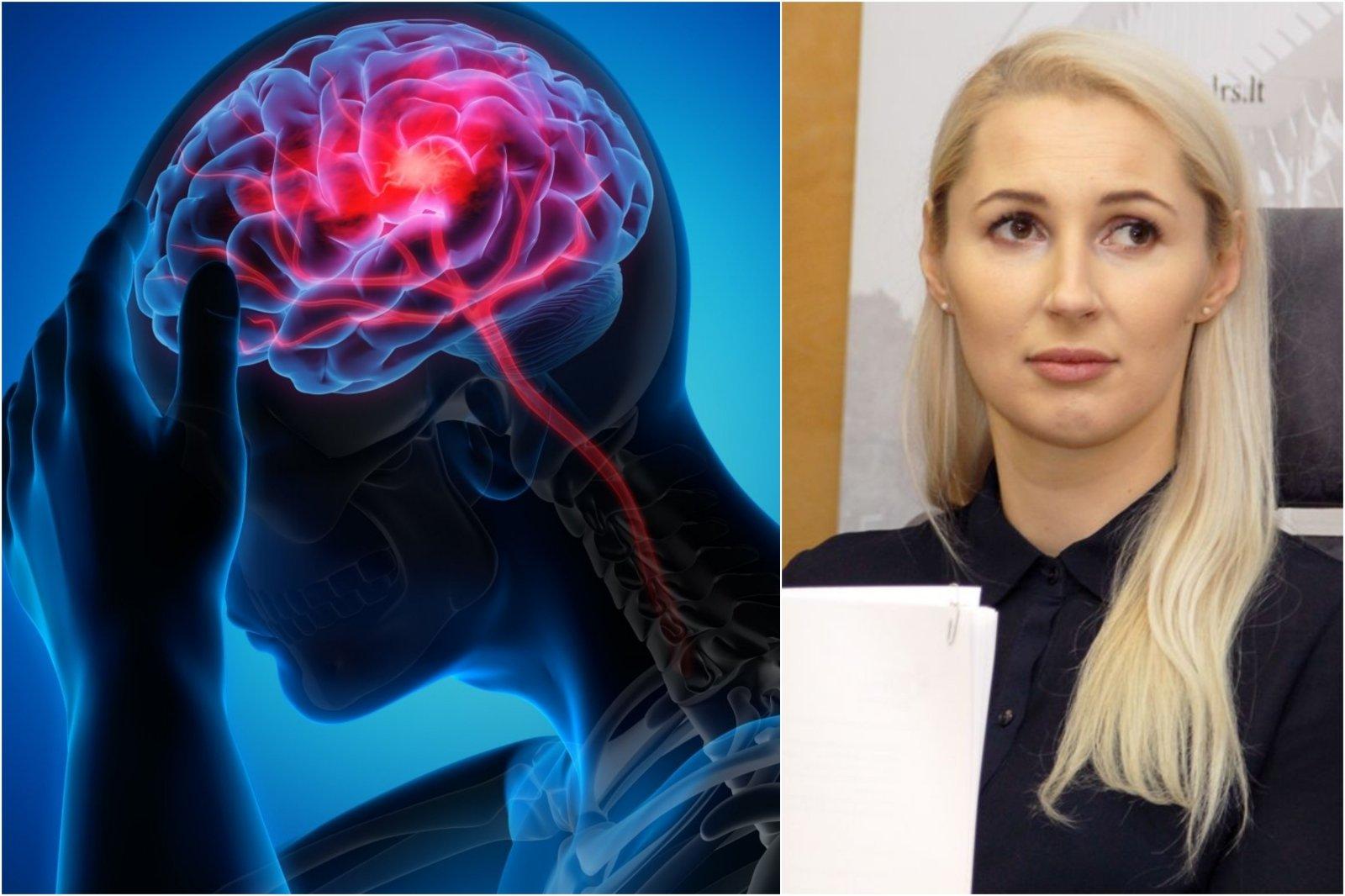 galvos skausmo su hipertenzija požymiai