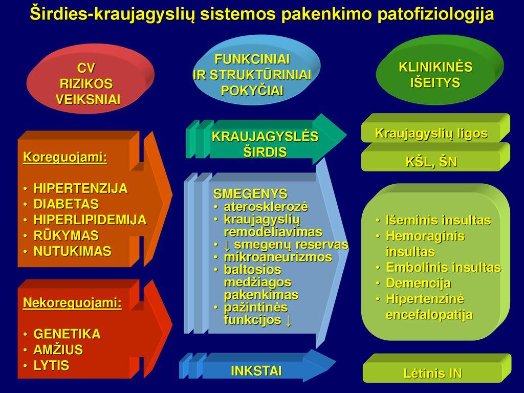 insulto hipertenzija 3 laipsniai