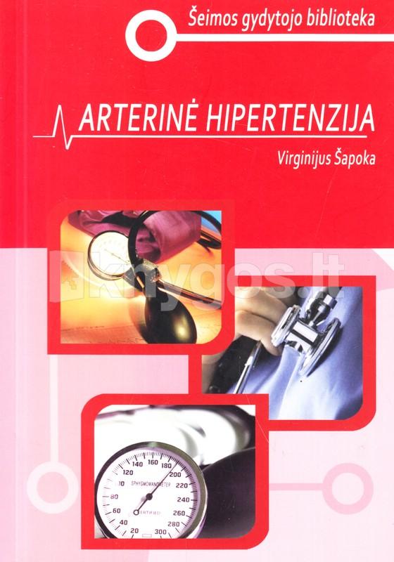 knygų apie hipertenzijos gydymą kai su hipertenzija suteikia negalią