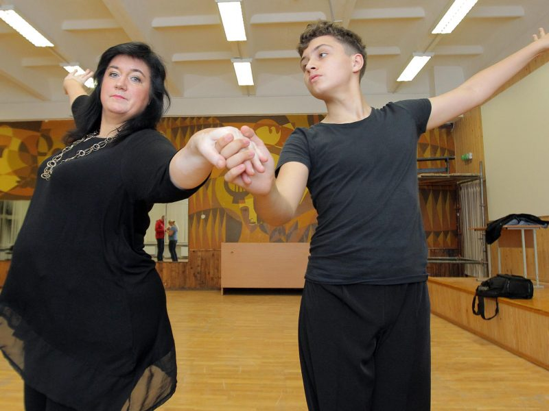 šokiai su hipertenzija